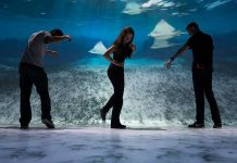 national geographic encounter guests interactive flooring