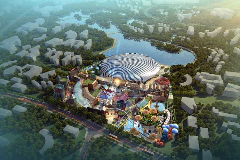 global 100 movie theme park hainan chapman taylor