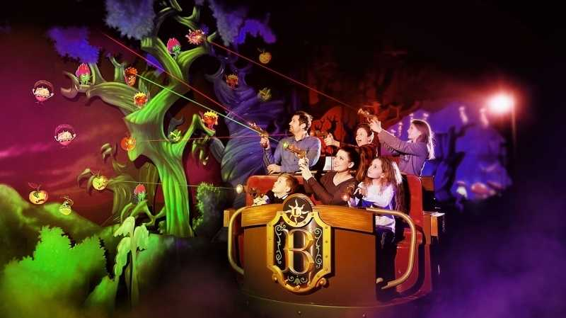 bazyliszek basilisk interactive dark ride legendia poland