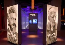 freedom display at bible museum washington