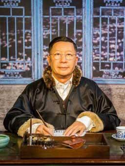china waxwork man merlin