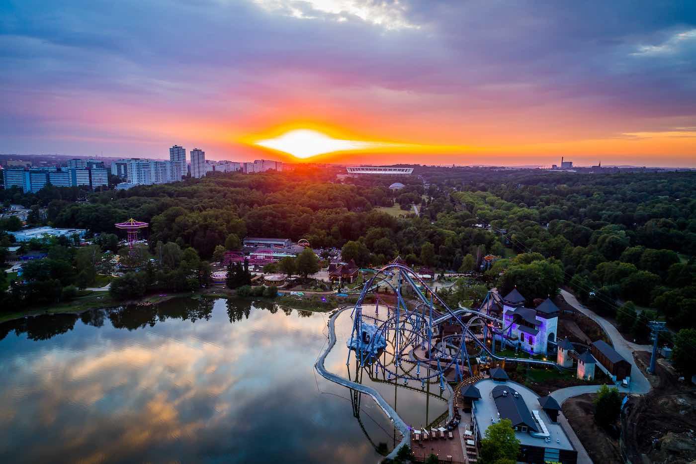 Legendia | Bazyliszek interactive dark ride | theme park Poland