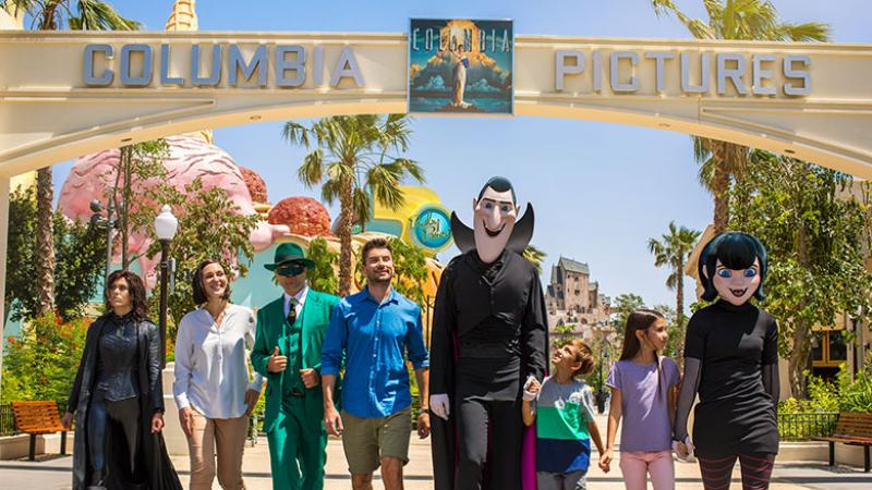 Motiongate Dubai at Dubai Parks and Resorts owned by DXB Entertainments