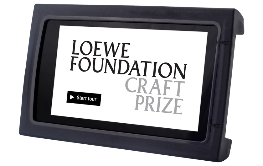 imagineear tour guide for loewe craft prize exhibition