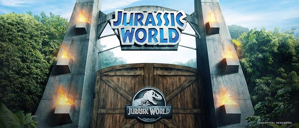Jurassic World ride at Universal Studios Hollywood