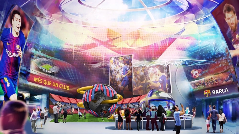 Parques Reunidos to develop FC Barcelona indoor entertainment centres