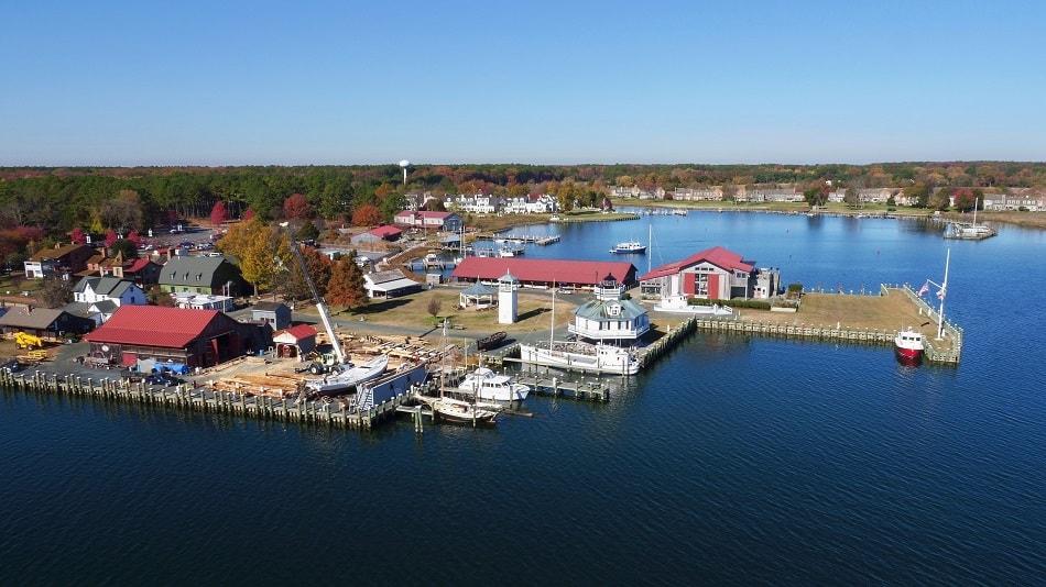 Chesapeake Bay Maritime Museum CBMM master plan