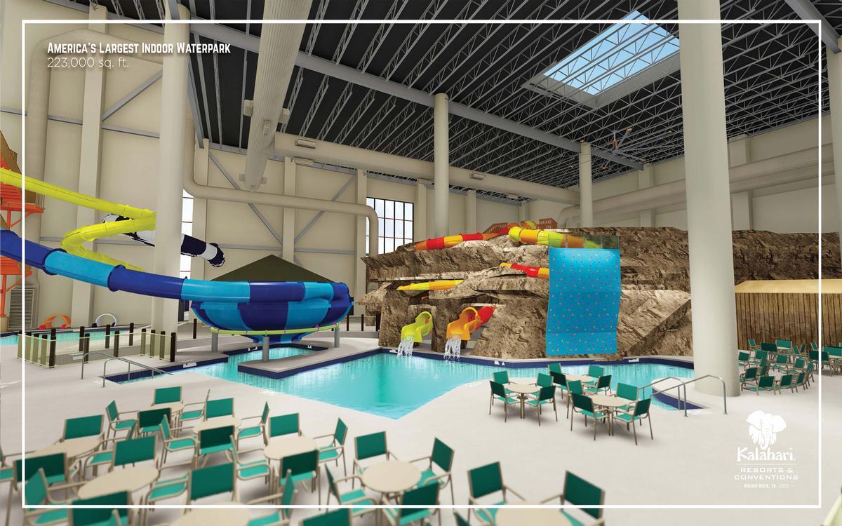 Construction Starts On 550m Kalahari Resorts Round Rock Blooloop