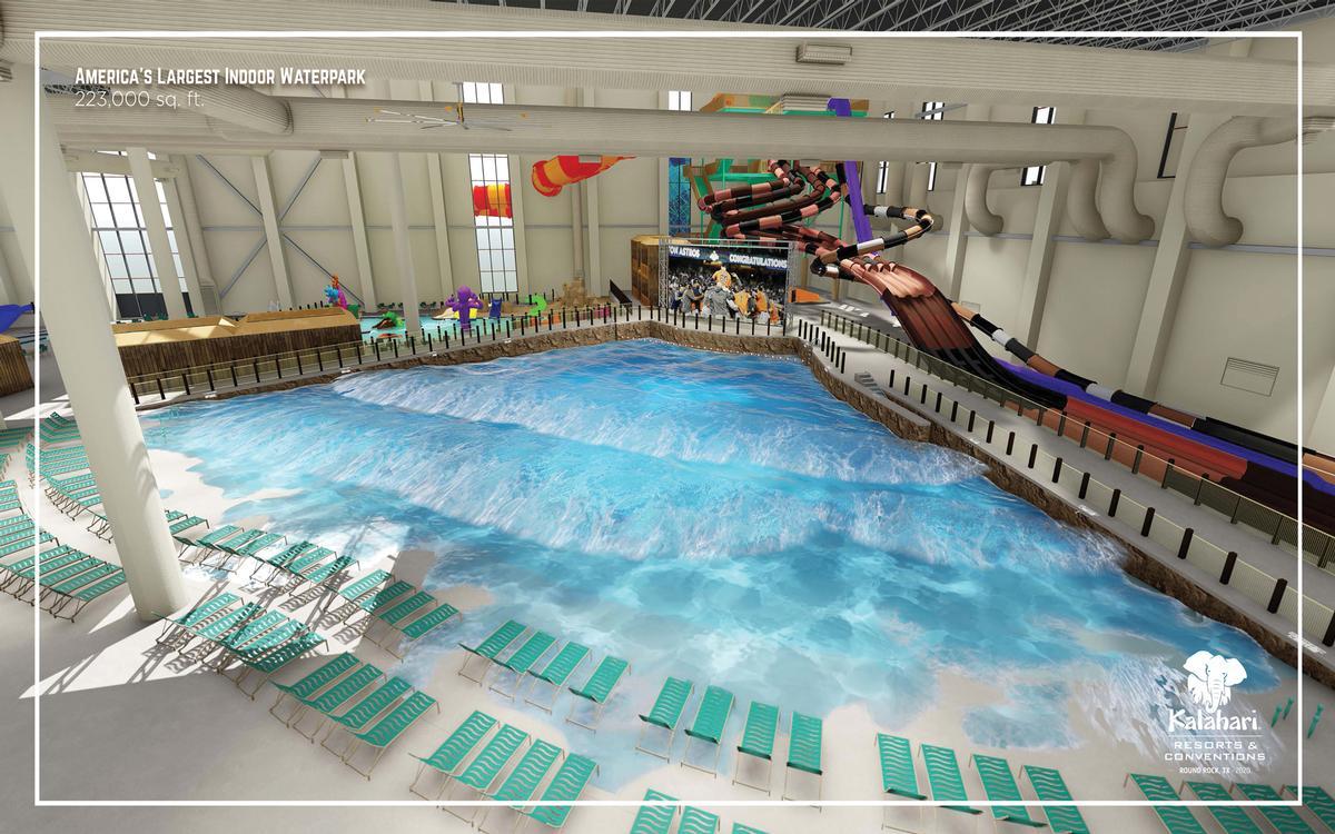 America's largest indoor water park at Kalahari Resorts Round Rock