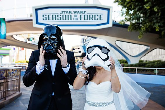 Disney Star Wars themed wedding