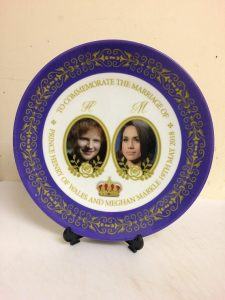 ed sheeran and meghan markle wedding plates