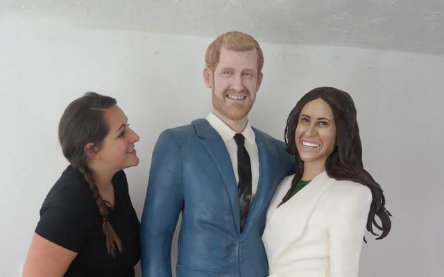 lara mason cakes harry meghan royal wedding