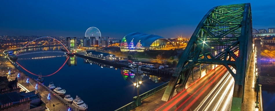 Whey Aye £100m observation wheel development proposed for Newcastle Quayside by the World Wheel Company