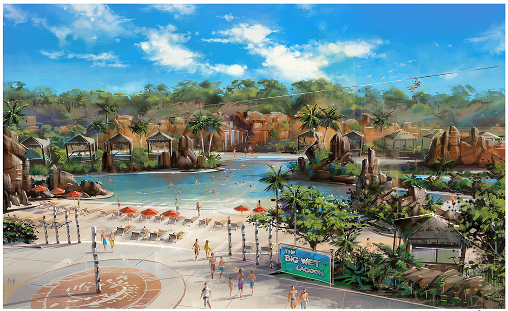 darwin water theme park EOI