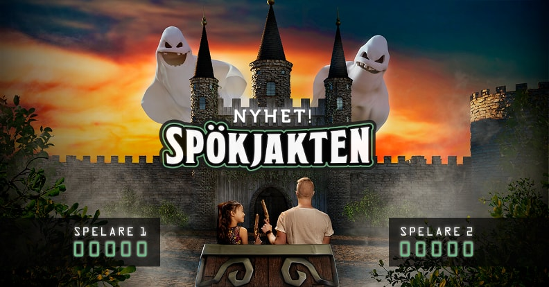 Furuvik And Sally Corp Swedens First Interactive Dark Ride Spökjakten