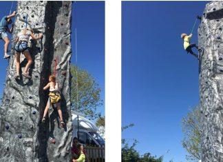 innovative leisure climbing walls at park holidays uk