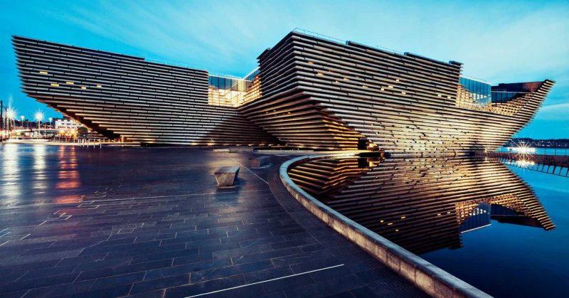 V&A dundee building exterior