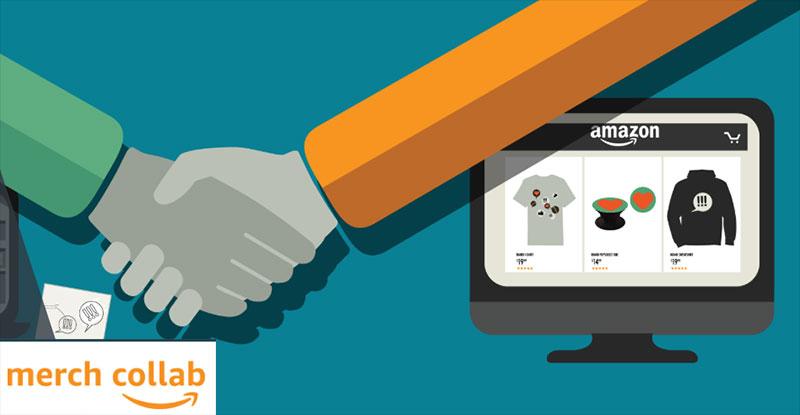 amazon merch collab brand licensing platform