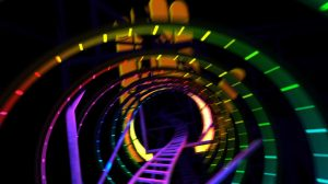 raven sun creative hershey park laff trak coaster
