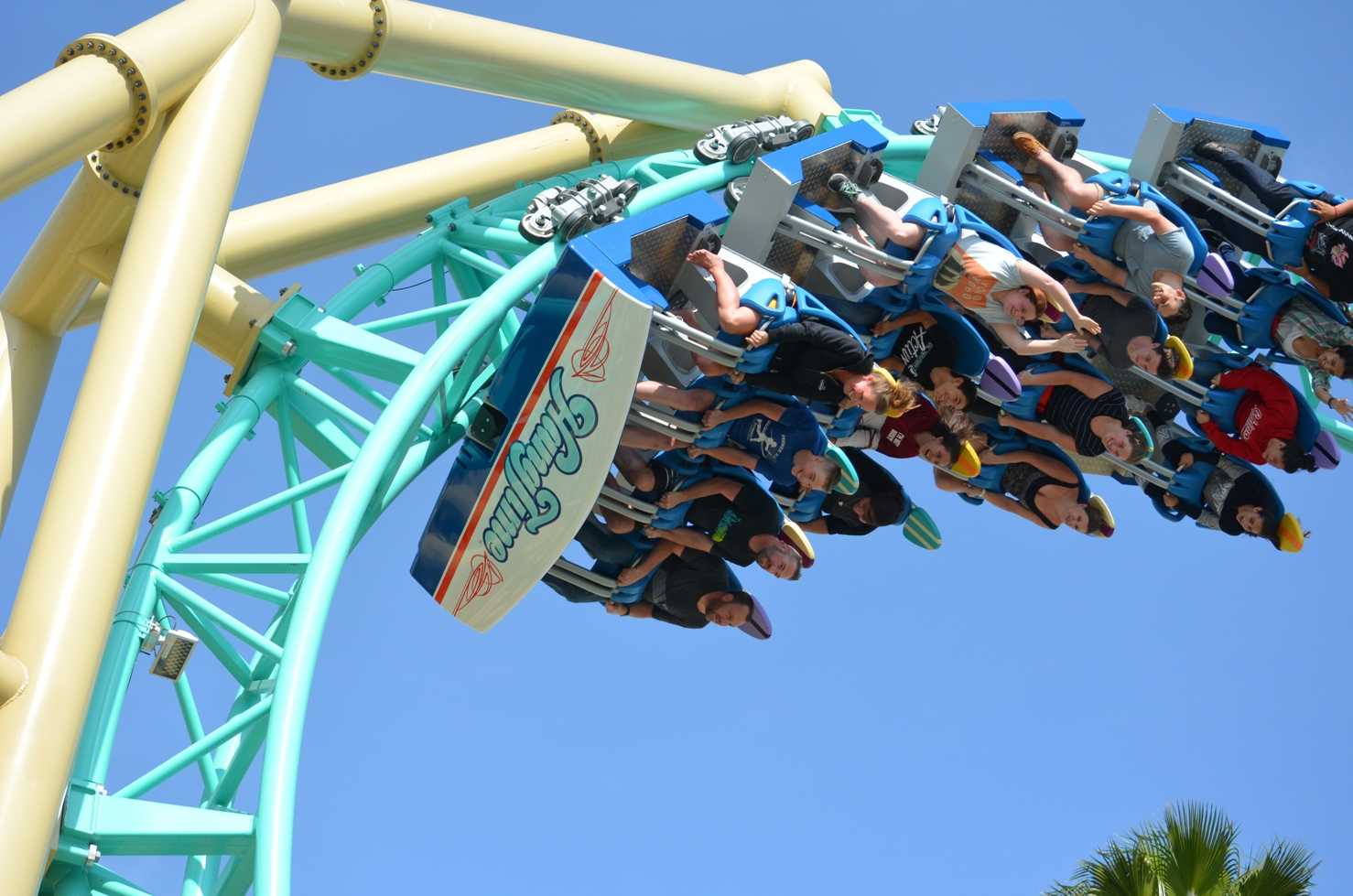 Hangtime, Ride Entertainment celebrates coaster debut Knotts Berry Farm