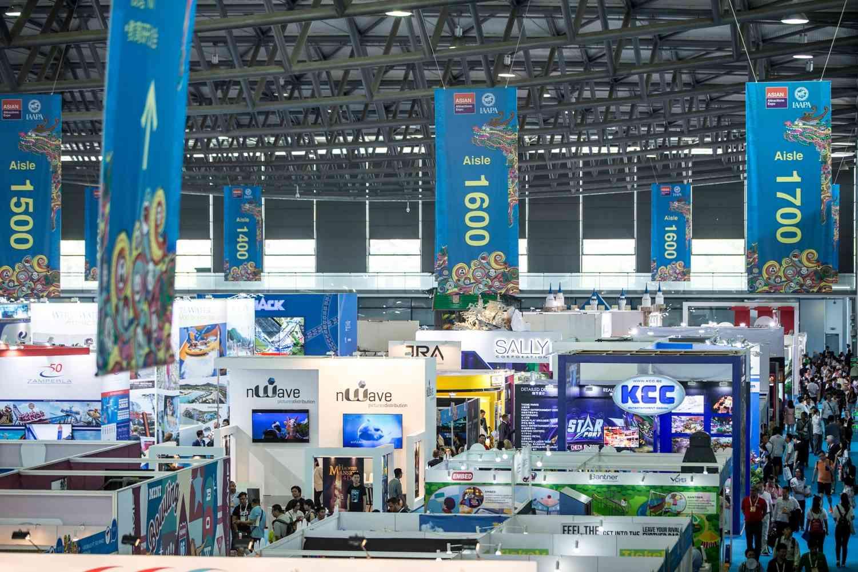 iaapa aae trade floor showcasing latest innovations