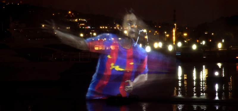 water screen fc barcelona lci