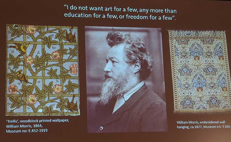 V&A Tristram Hunt RAMM museum William Morris