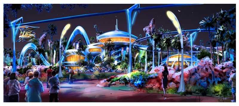 sea creature exterior design futuristic buildings