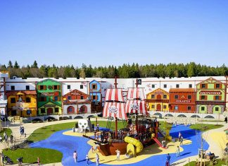 Lappset Creative create legoland pirate ship playground