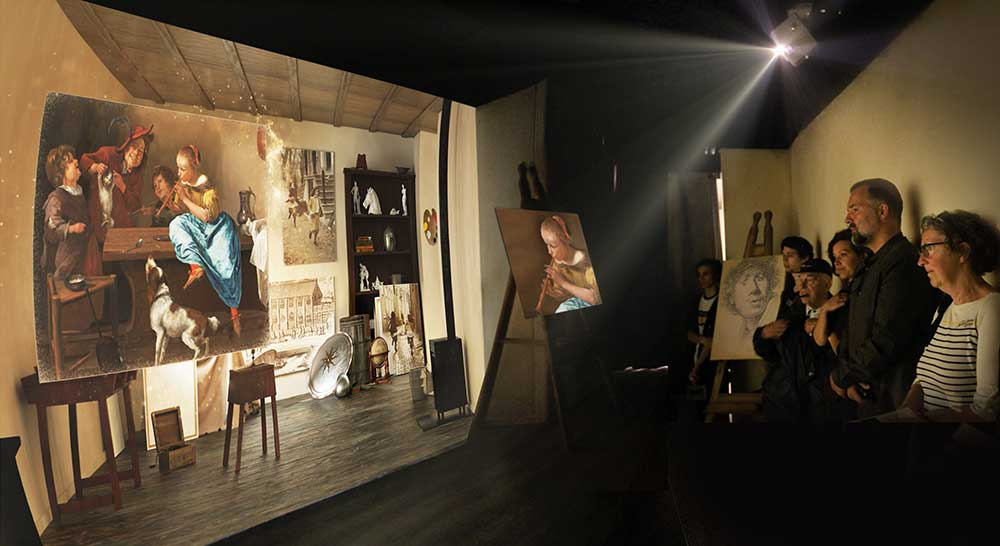 Jora Vision create immersive experience for Young Rembrandt Studio
