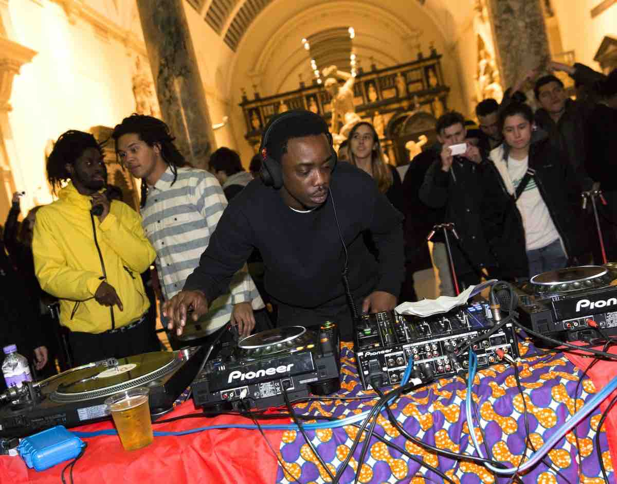 DJ at Friday Late at V&A