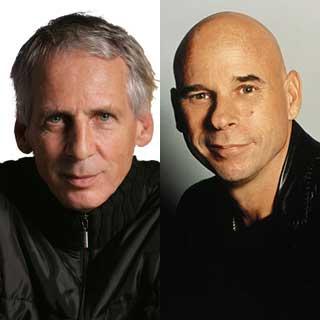 Gilles Ste-Croix and Guy Laliberté