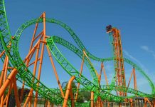 tantrum roller coaster at darien lake park supplied by ride entetainment