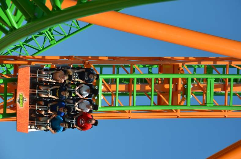 tantrum coaster at darien lake park