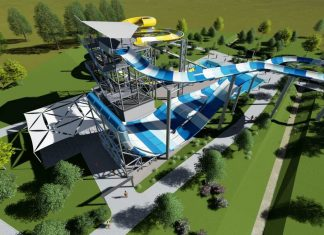 polin family turbolance and rafting slide complex at tatralandia aquapark