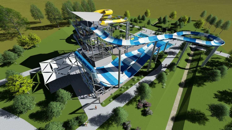 polin family turbolance and rafting slide complex at tatralandia aquapark