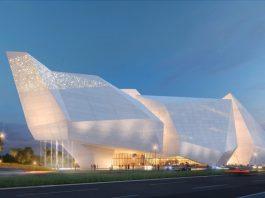 pelli clarke pelli architects design for chengdu natural history museum copyright Steelblue LLC