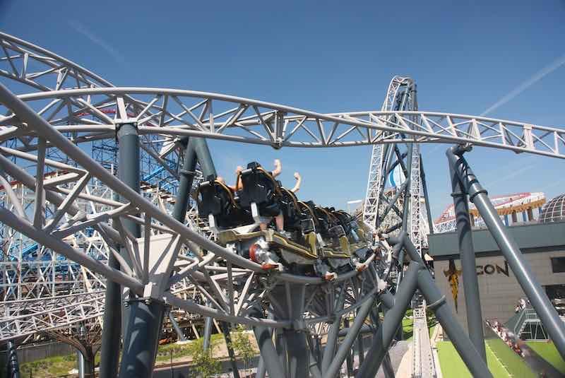 Blackpool Pleasure Beach Icon Roller Coaster Mack