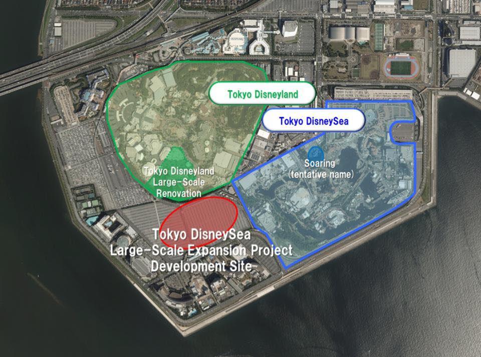 Tokyo DisneySea expansion plans