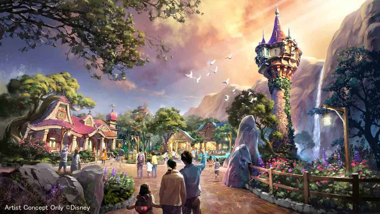 tangled area tokyo disneysea expansion a