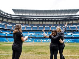 PANORA.ME & DAKOTA PHOTOS AT REAL MADRID