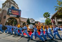 Kung Fu Panda: The Emperor's Quest opens at Universal Studios Hollywood