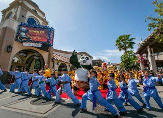 Kung Fu Panda opens at Universal Studios Hollywood