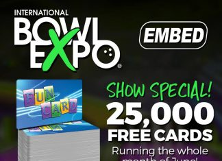 IBE international bowl expo embed promo debit card