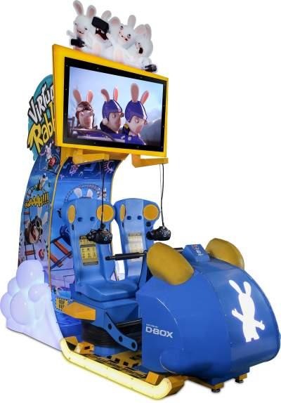 virtual rabbids VR ride at international bowl expo IBE lai games