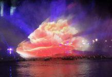 bozhou nanhu water and light dance show
