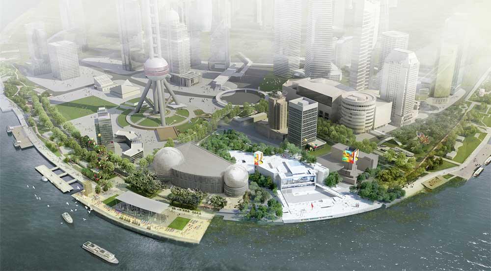 Pudong Art Museum Jean Nouvel