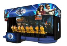 triotech xd dark ride interactive theatre