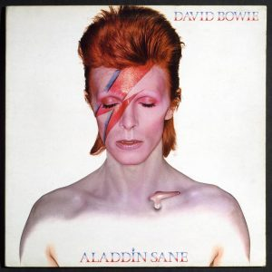 David Bowie V and A Aladdin Sane