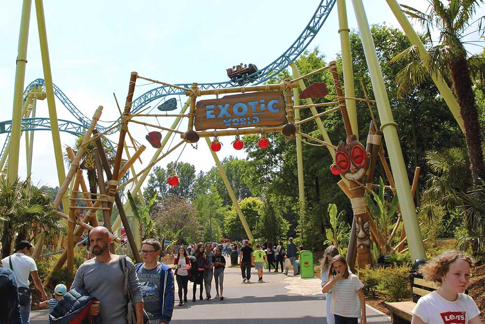 Jora Vision Exotic World Walibi Belgium entrance